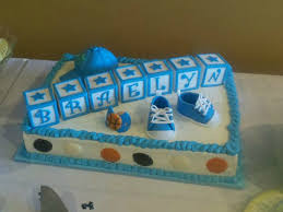 Sports Baby Shower Cake Ideas Sports Themed Baby Shower Cake Cakecentral Com