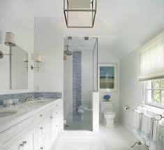 dutch tile blue bathroom transitional with white floor resistant
