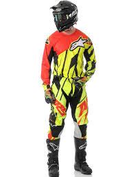 alpine star motocross boots alpinestars fluorescent red black 2015 techstar mx jersey