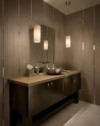 applying the bathroom lighting design to cast away mystique sense