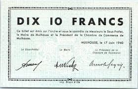 chambre commerce mulhouse banknote 10 francs mulhouse chambre de commerce série c
