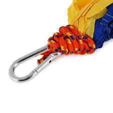 parachute nylon hammock for camping and travel u2013 ready deals