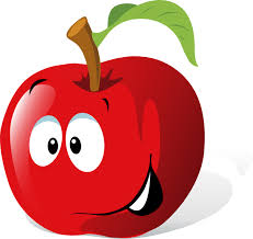 apple cartoon vegetables cartoon faces use these free images for your websites