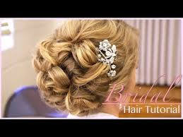 updos for hair wedding classic bridal updo hair style tutorial