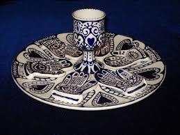 passover seder set hamsa passover seder set by rinakadima on etsy 300 00 judaica