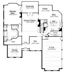 westdrake place traditional floor plan daylight basement plan