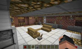 hi tech house working bathroom and kitchen minecraft project
