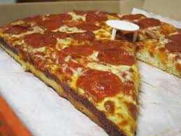 round table pizza golden valley review little caesars pepperoni deep dish pizza brand eating