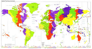 Map With Compass Vintage World Map With Compass Travel Geography Navigation Concept