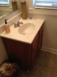 Bathroom Small Bathroom Ideas Tile by Before U0026 After A 210 Guest Bathroom Refresh Hometalk