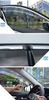 for 2016 2017 honda civic x sedan sun rain guard window visors