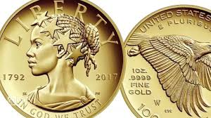 new gold coin depicts lady liberty as african american woman wpxi