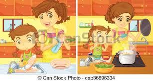 maman cuisine portion maman cuisine portion maman vecteurs