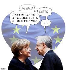 Mario seduce Merkel