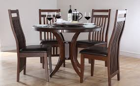 Dark Wood Kitchen Table Round Wood Kitchen Table And Chairs Marceladick Wooden Best 25