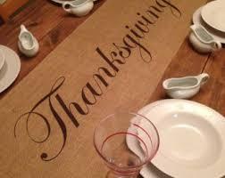 thanksgiving table runner etsy