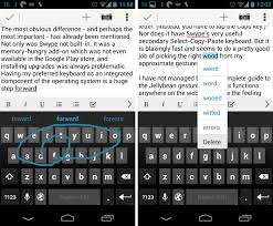 android swype keyboard the android user android jellybean s gesture keyboard