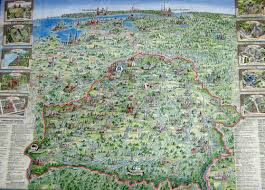 best tourist map of belarus tourist map mappery