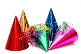 party hats birthday party hats stock photo colourbox