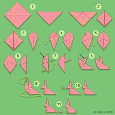 Paper Craft Steps - easy easter craft ideas for