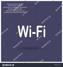 wireless network icon vector design stock vector 304757384