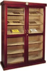 commercial display cigar humidors
