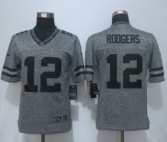 design gridiron jersey finely design nike packers 12 aaron rodgers grey gridiron grey