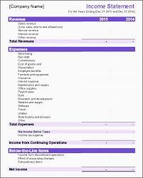 12 excel financial statements template besttemplatess