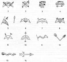 drawing pictish symbols of the 7th to 10th centuries ad