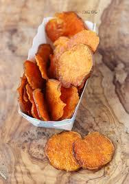 patate douce cuisine chips de patate douce apéritifs chips de patate
