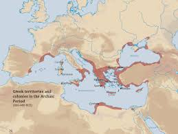 Sparta Greece Map by Reed College Humanities 110 Basic Chronology Of The Ancient World
