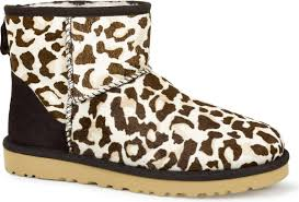 womens ugg boots dillards ugg australia s mini calf hair leopard free