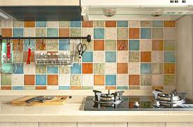 Wallpaper For Kitchen Backsplash Kitchen Backsplash Behind Stove Wallpaper Backsplash Peel And
