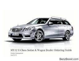lexus dealership vallejo ca w212 benzboost obtains 2012 w212 e class dealer ordering guide