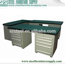 Industrial Work Table by Customized Warehouse Garage Industrial Work Table Steel Work Bench