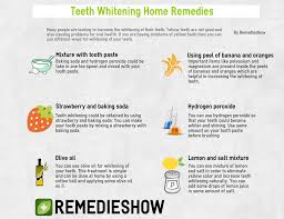 teeth whitening home remedies 9 ways for perfect smile