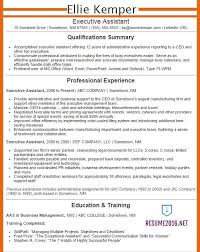 Free Sample Resume For Administrative Assistant by Executive Assistant Resume Examples 2016 Get Your Job