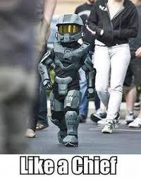 Master Chief Meme - farewell letter from master chief cos play and plays