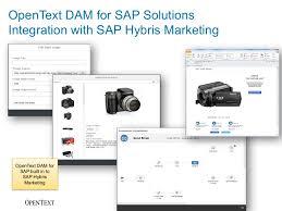 opentext digital asset management for sap solutions