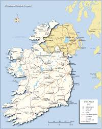 Map Of Northern Europe by Political Map Of Ireland Nations Online Project