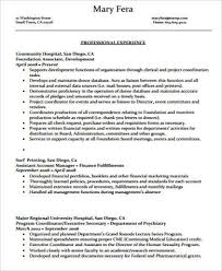 Executive Secretary Resume Sample by Executive Resume Sample 9 Examples In Word Pdf