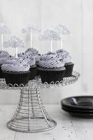 sesame cupcakes inside black sesame cupcakes with lemon curd sprinkle