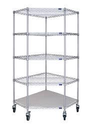 Wire Storage Unit Wire Shelving U2013 Corner Unit U2013 Mobile U2013 Storage Systems Unlimited