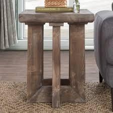 Pine Side Table Reclaimed Pine Side Table Wayfair
