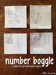 teaching blog round up number boggle with links to freebies