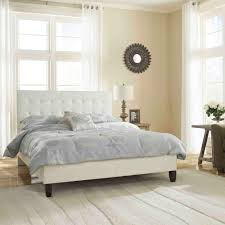 rest rite mckenzie white queen upholstered bed hcmckbedwhqn the