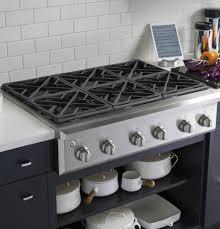 Red Kitchen Range Appliances Kitchen Fascinating Image Of Decoration Using Brown Granite Counter