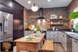 Wood Wall Panels by Faux Wood Wall Panels Add The Vibrant Look Of Real Wood