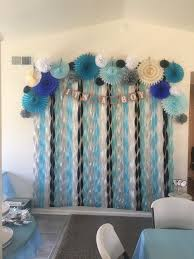 baby shower decorations for boys beautiful backdrop for a boy baby shower for all of the products