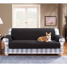 sofa cover cotton duck pet throw sofa cover at brookstone buy now